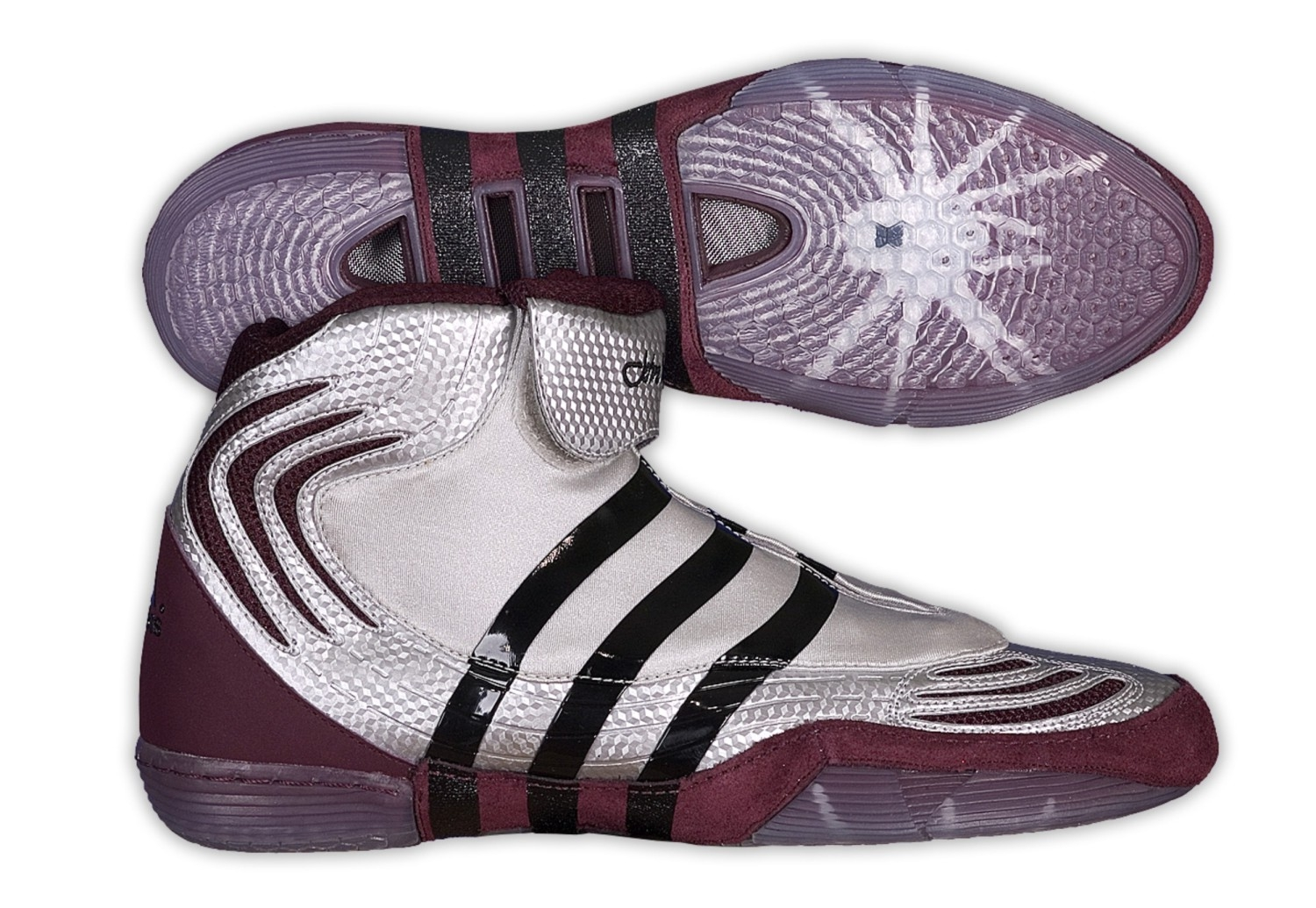 Adidas Maroon Wrestling Shoes