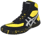Black And Gold Rulon Wrestling Shoes For Sale