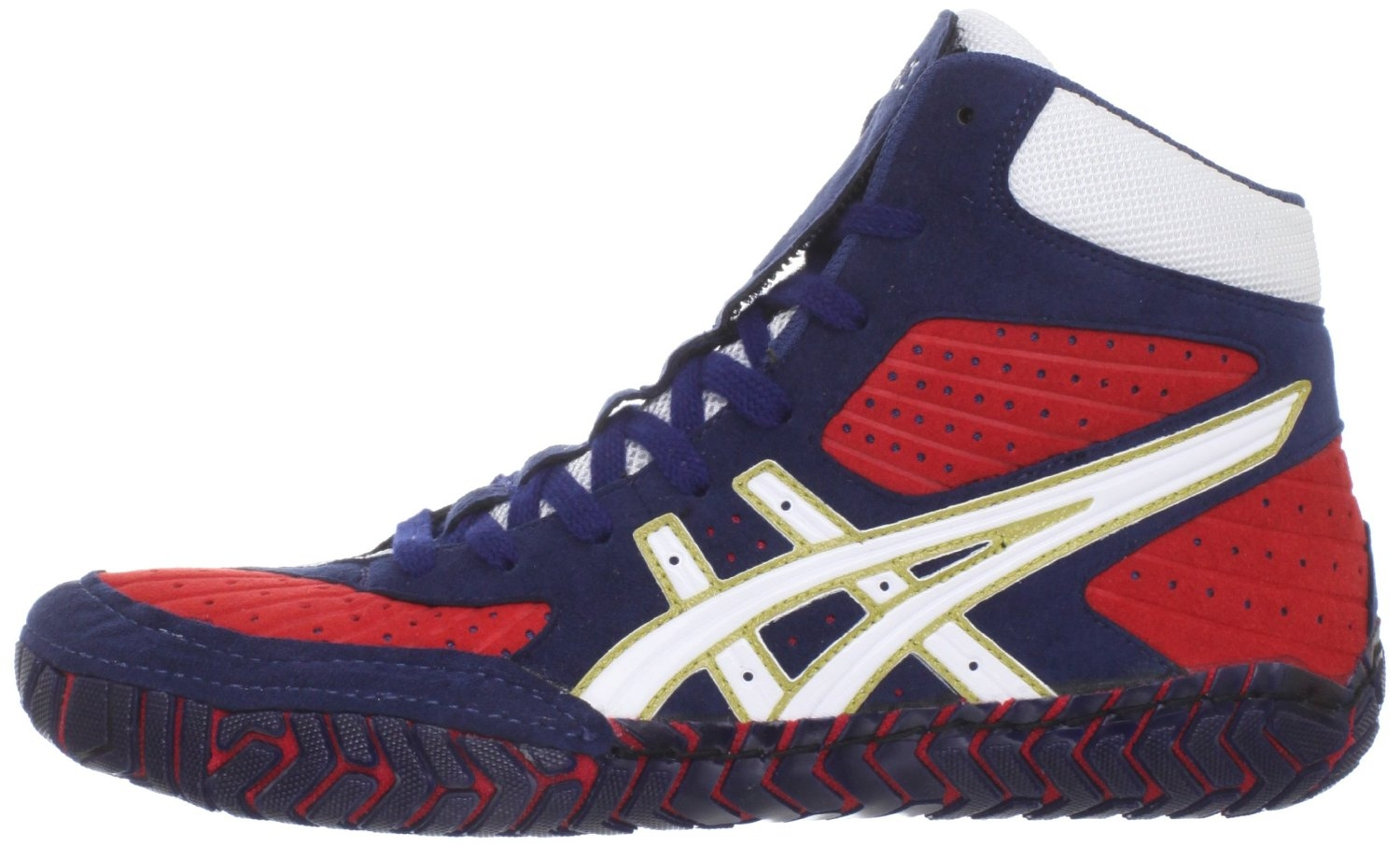 Black And Red Asics Wrestling Shoes Asics Agressor Wrestling Shoes
