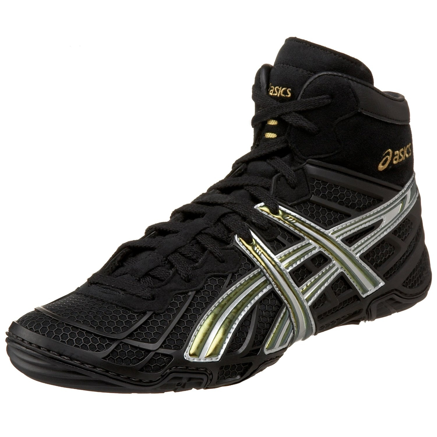 asics dan gable ultimate 2 wrestling shoes.
