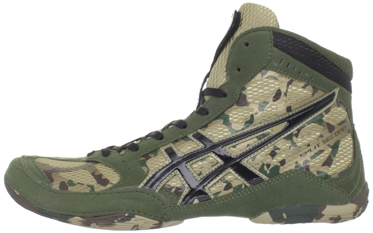 Asics Red Camo Wrestling Shoes le Wrestling Shoes Camo