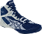 Asics Cael v5.0 Wrestling Shoes - Navy/Silver/White