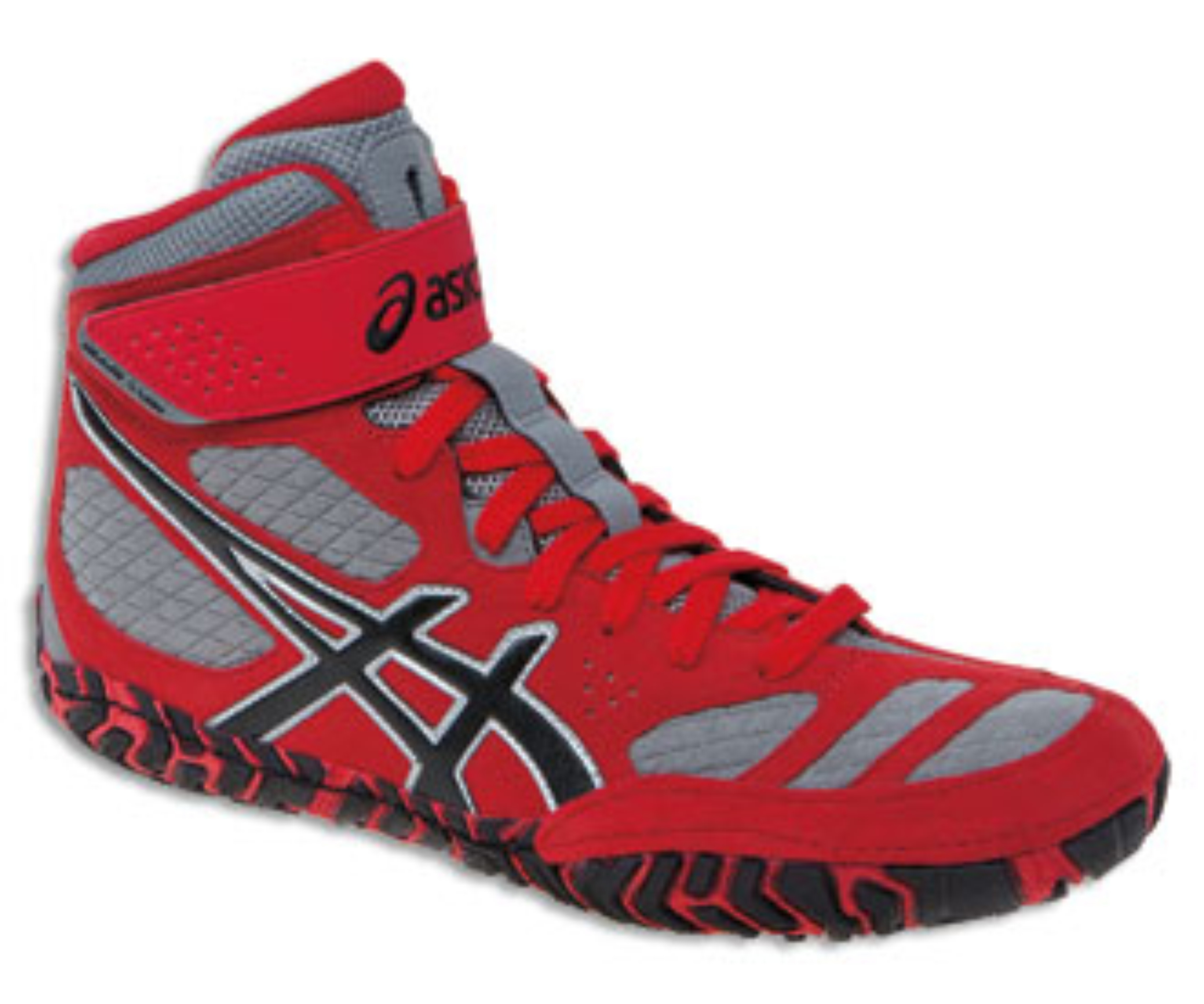 youth asics aggressor wrestling shoes