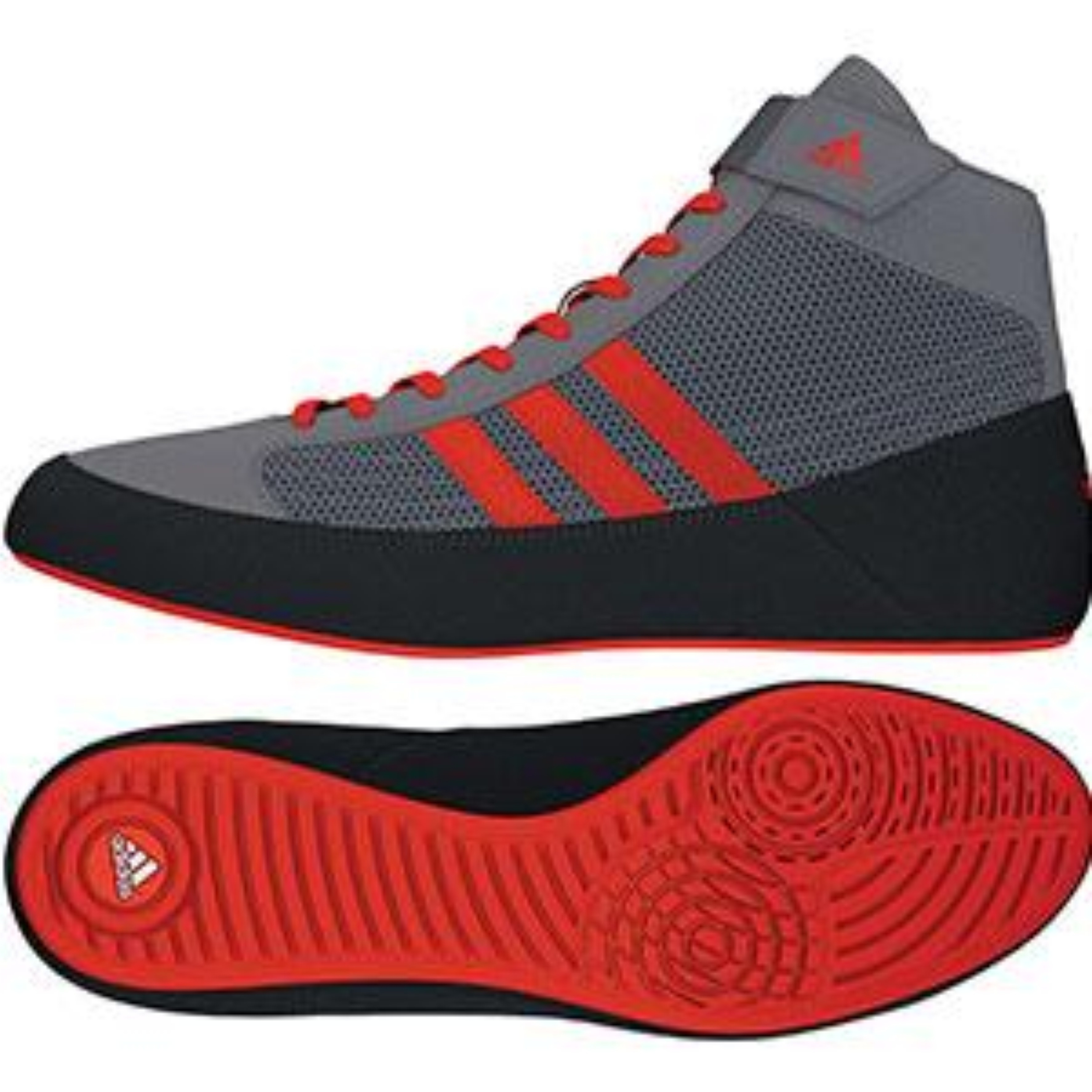 3e701bf6ad934c Adidas HVC Wrestling Shoes - Youth - Laced
